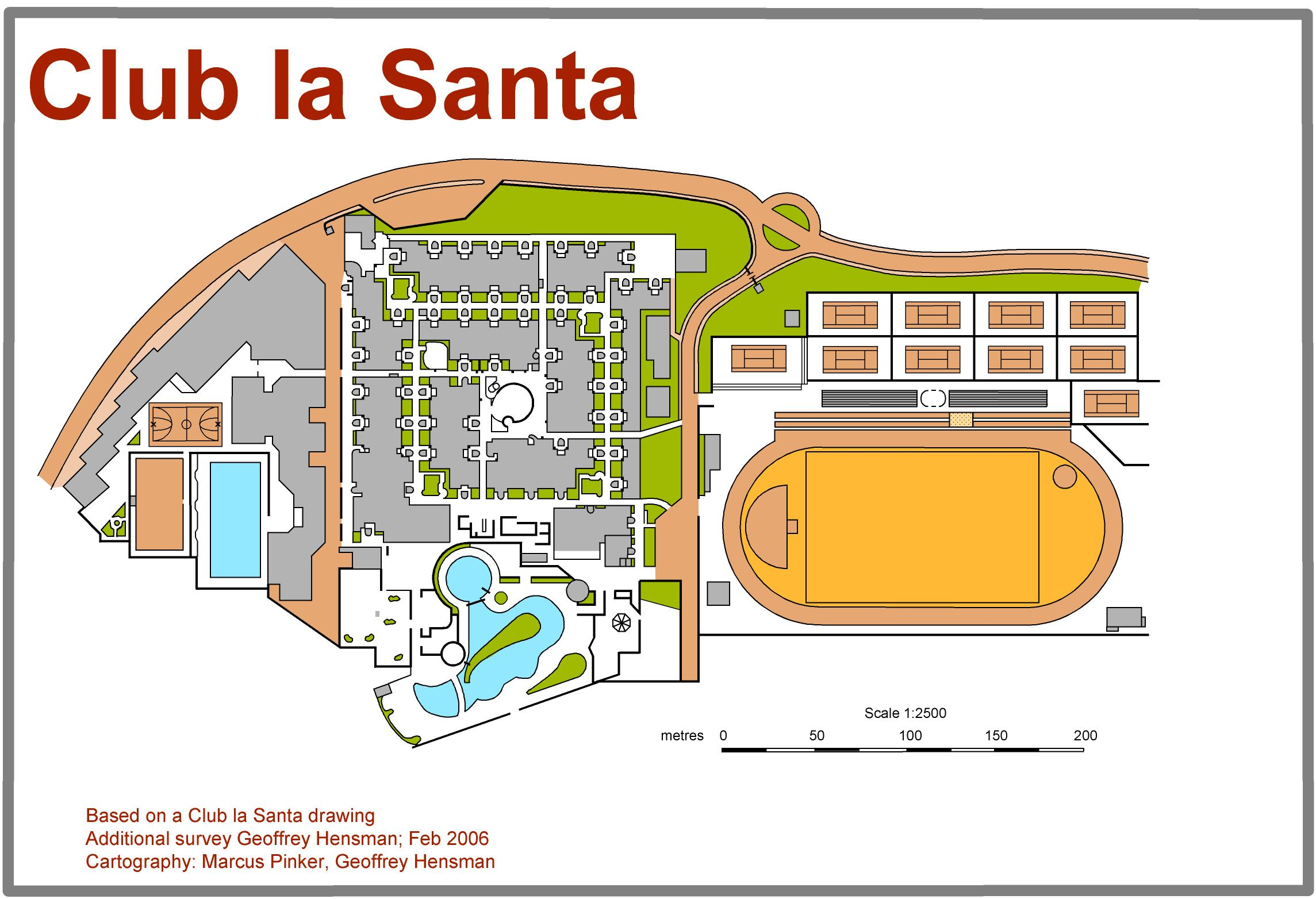 Club La Santa - Sprint Map 2012 (01/01/2012)
