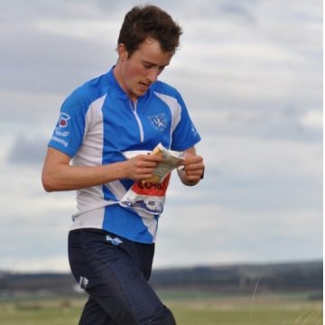 Elite orienteer Alan Cherry