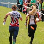 Some kids compete in orienteering at international level
