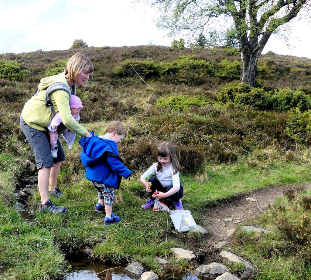 Family activities in Scotland