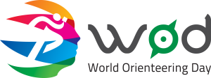 World orienteering day logo
