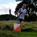 GB Orienteer competing in Stirling in the great outdoors