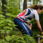 Jenny Rickets racing hard in the Junior World Orienteering Championships and enjoying the great outdoors