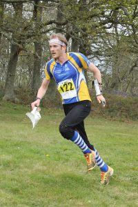 Elite orienteer Mark Nixon credit Rob Lines