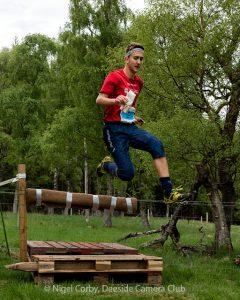 Elite orienteer Alex 'Sasha' Chepelin