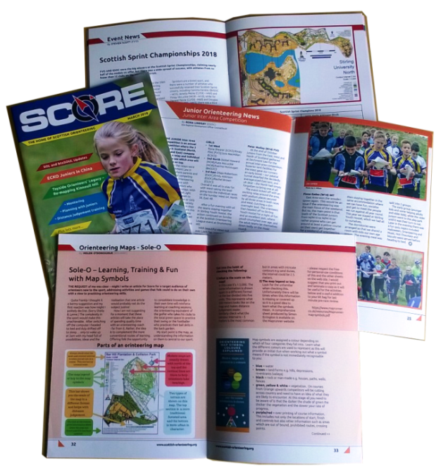 Award-winning orienteering magazine about getting active outdoors