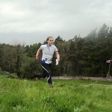 Elite orienteer Lindsay Robertson