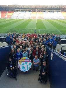 sportscotland Lead the Way event