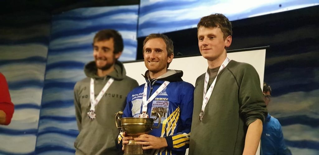 Graham Gristwood won a sixth national championship title at Muir of Dinnet