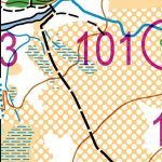 Extract from Glenmore ROMP map