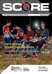 SCORE March 2019 Cover