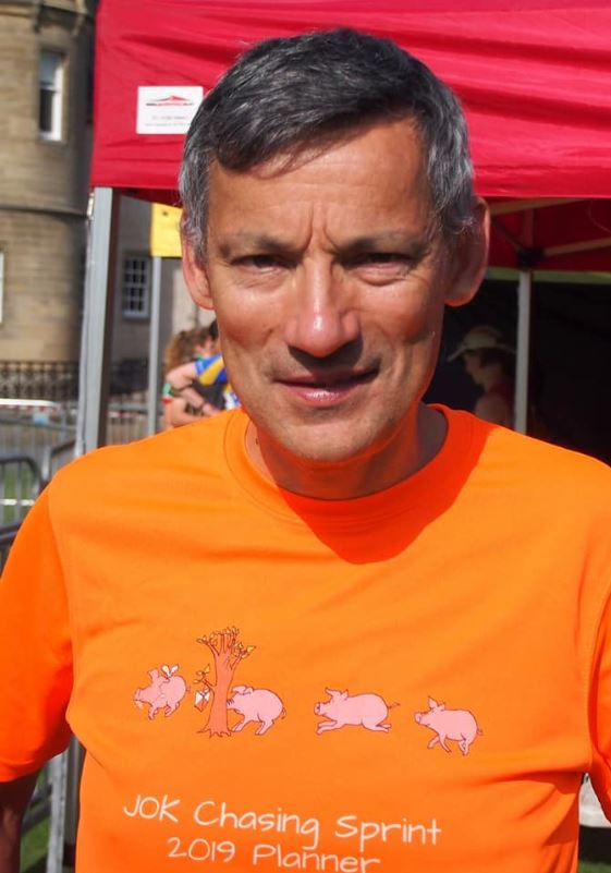 Graeme Ackland, one of the planners for WOC 2022