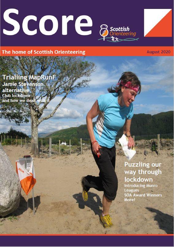 Score magazine front cover
